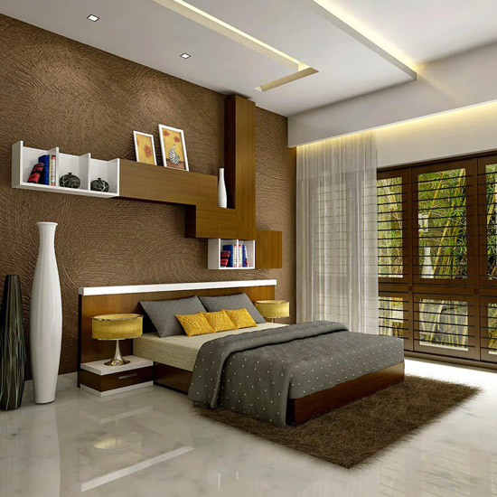 Indian bedroom decor style