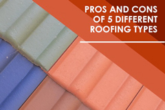 Post image for Pros and Cons of 5 Different Roofing Types