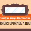 Thumbnail image for Unique ways decorative mirrors upgrade a room
