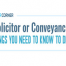 Thumbnail image for Solicitor of Conveyancer? – Things you need to know Infographic
